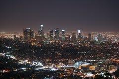Orizzonte di Los Angeles Immagine Stock Libera da Diritti