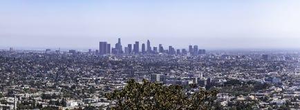 Orizzonte di Los Angeles da Griffith Park immagini stock