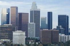 Orizzonte di Los Angeles di giorno Immagine Stock Libera da Diritti