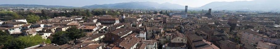 Orizzonte di Lucca Fotografia Stock