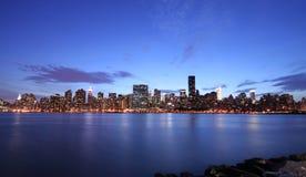 Orizzonte di Manhattan Fotografie Stock