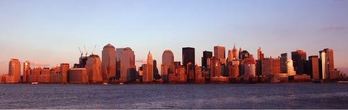 Orizzonte di Manhattan Immagini Stock