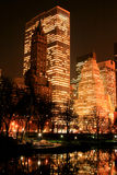 Orizzonte di Manhattan e del Central Park, New York City Fotografie Stock