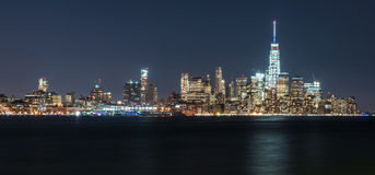 Orizzonte di Manhattan New York Immagine Stock Libera da Diritti