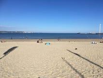 Orizzonte di mare della spiaggia Fotografia Stock