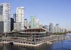 Orizzonte di mattina di Vancouver Immagine Stock Libera da Diritti
