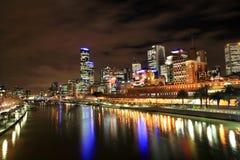 Orizzonte di Melbourne Immagini Stock Libere da Diritti