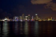 Orizzonte di Miami Immagine Stock Libera da Diritti