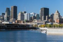 Orizzonte di Montreal Fotografie Stock Libere da Diritti