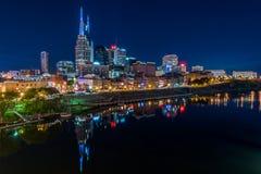 Orizzonte di Nashville Fotografia Stock