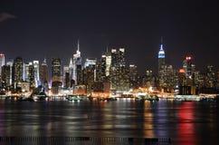 Orizzonte di New York Immagini Stock Libere da Diritti