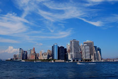 Orizzonte di New York Fotografia Stock
