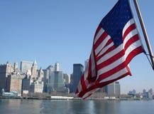 Orizzonte di New York Immagini Stock