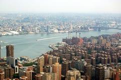 Orizzonte di New York City Fotografie Stock