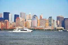 Orizzonte di New York City Immagini Stock