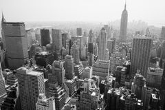 Orizzonte di New York City Immagine Stock Libera da Diritti