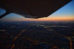 Orizzonte di notte Fotografia Stock Libera da Diritti