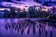 Orizzonte di NY Fotografia Stock
