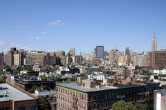 Orizzonte di NYC Fotografia Stock Libera da Diritti