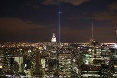 Orizzonte di NYC Fotografie Stock
