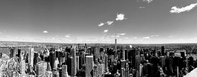 Orizzonte di NYC Immagini Stock
