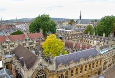 Orizzonte di Oxford Immagine Stock Libera da Diritti