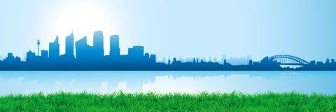 Orizzonte di paesaggio urbano royalty illustrazione gratis
