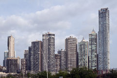 Orizzonte di Panama City, Panama. Immagine Stock