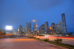 Orizzonte di Panama City, Panama. Fotografia Stock Libera da Diritti