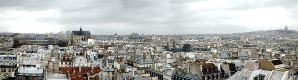 Orizzonte di Parigi Fotografia Stock Libera da Diritti
