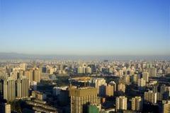 Orizzonte di Pechino Immagini Stock