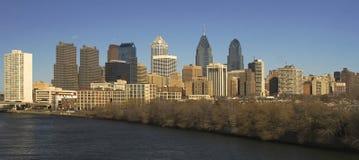 Orizzonte di Philadelphia Fotografia Stock