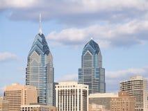 Orizzonte di Philadelphia fotografie stock
