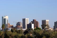Orizzonte di Phoenix, AZ Fotografia Stock