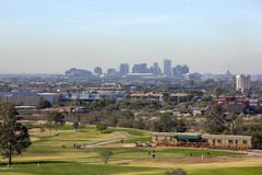 Orizzonte di Phoenix del centro, AZ immagini stock libere da diritti