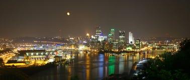 Orizzonte di Pittsburgh Fotografie Stock