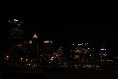 Orizzonte di Pittsburgh Fotografia Stock