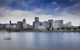 Orizzonte di Portland Oregon immagine stock libera da diritti