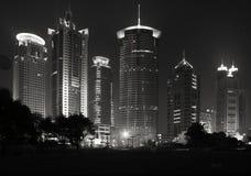 Orizzonte di Pudong Schang-Hai Fotografia Stock Libera da Diritti