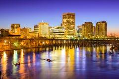 Orizzonte di Richmond la Virginia immagini stock