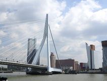Orizzonte di Rotterdam Immagini Stock