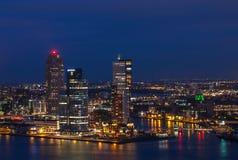 Orizzonte di Rotterdam Fotografia Stock