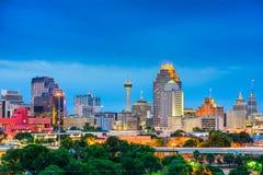 Orizzonte di San Antonio il Texas Fotografia Stock