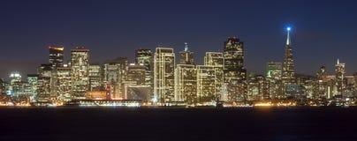 Orizzonte di San Francisco Fotografia Stock