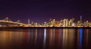 Orizzonte di San Francisco Immagine Stock