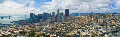 Orizzonte di San Francisco Fotografia Stock Libera da Diritti
