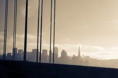 Orizzonte di San Francisco Immagine Stock Libera da Diritti