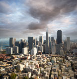 Orizzonte di San Francisco fotografie stock