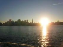Orizzonte di San Francisco Fotografie Stock Libere da Diritti