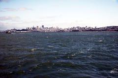 Orizzonte di San Francisco, California, S.U.A. Fotografia Stock